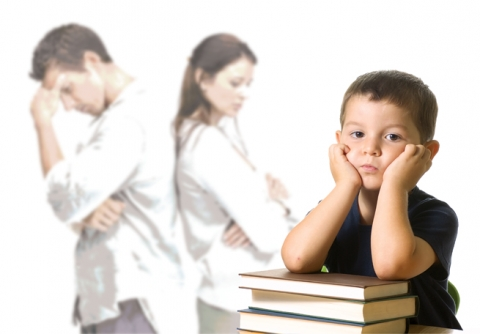 Divorce is a major change for your children - be there for them
