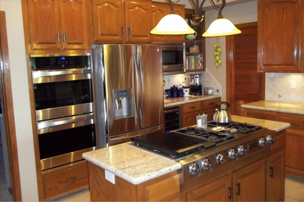 Practical kitchen appliance placement ideas for Kitchen ideas appliances