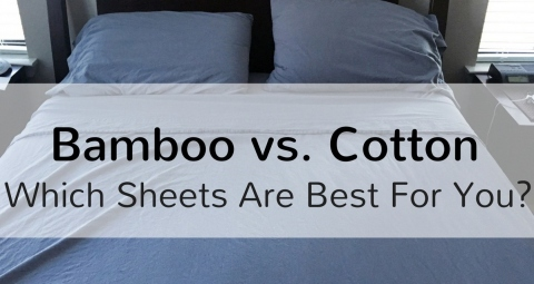 Organic Bamboo vs Egyptian Cotton Bed Sheets Picture