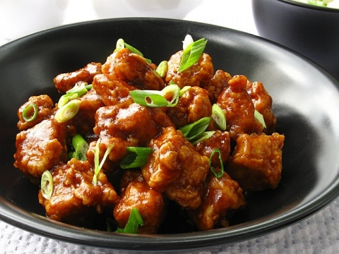 Traditional Asian food - tasteful and heathful Chinese dishes